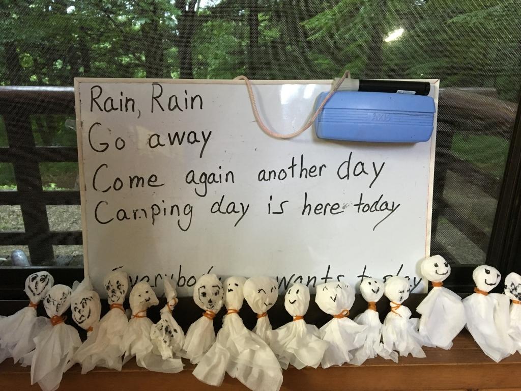 イングリッシュキャンプ2017 雨の中無事開催しました!