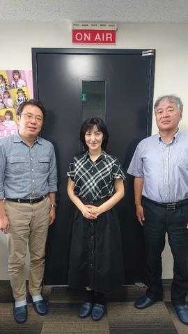 CRT栃木放送の生番組に出演しました